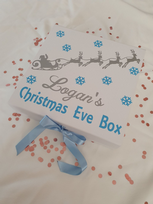 Winter Sleigh Personalised Christmas Eve Gift Box